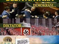 CARA MUDAH DAN CEPAT MENJELASKAN PERBEDAAN DEMOKRASI, DIKTATOR DAN KHILAFAH*