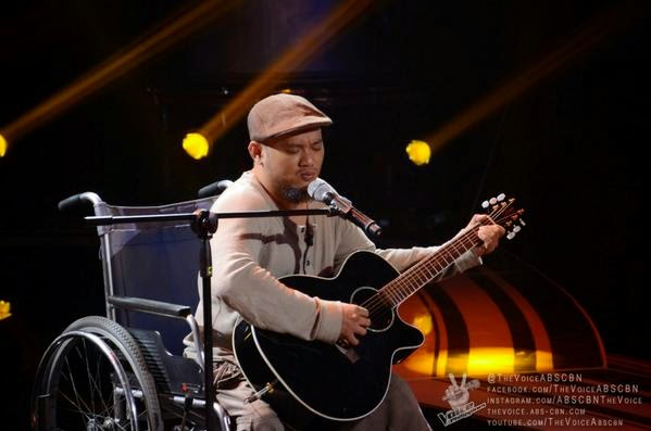 PWD Karlo Mojica auditions on 'The Voice of the Philippines' Season 2