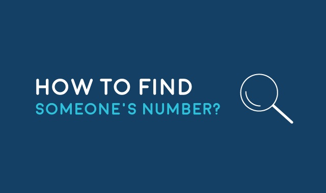 How to Find Someone's Number