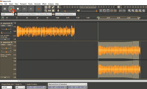 دورة شرح Audacity ماهو Stereo و Mono تحويل الصوت من Mono إلى Stereo