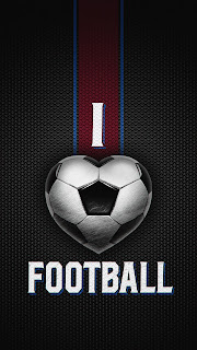 I Love Football Mobile HD Wallpaper