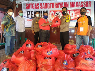 Alumni Akpol 89 Batalyon DL Salurkan 1.000 Paket Sembako