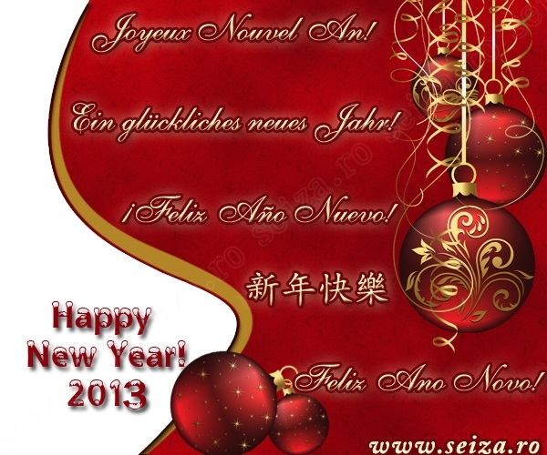 New Year Greeting Cards And Ecards