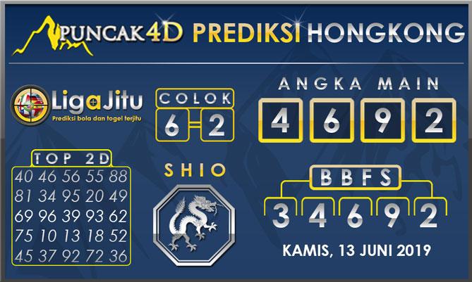 PREDIKSI TOGEL HONGKONG PUNCAK4D 13 JUNI 2019