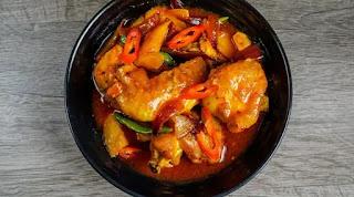 Resep Ayam Asam Manis Banjar