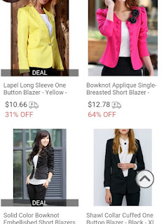 Wish list #4 -ROSEGAL- Blazers for women