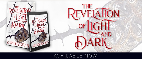 The Revelation of Light and Dark by Sawyer Bennett Available Now.