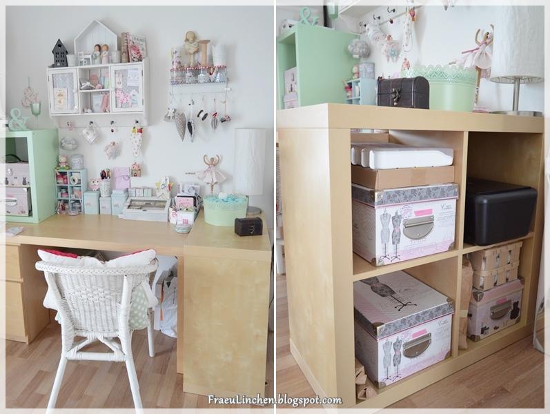 Linchen: Endlich Ordnung Auf Dem Schreibtisch Und Passende