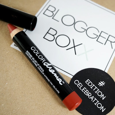 Beautybox Bloggerboxx Celebration Edition Maybelline Color Drama Lipstick