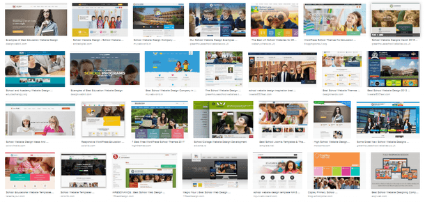 Tips on Choosing The Best School Website Design