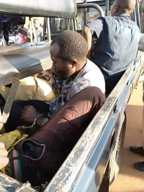 Two witch doctors arrested after raping a lady who came to ask for a charm to stop her boyfriend from dating other women (Pictures)