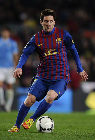 football players lionel messi 2012 photos