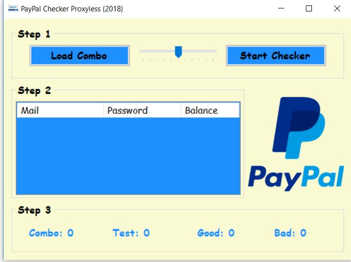 Paypal Account Checker 2018