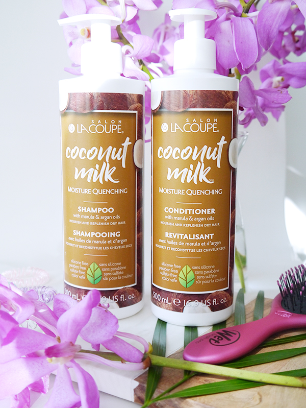 La Coupe Coconut Milk Moisture Quenching Shampoo and Conditioner