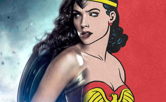 Evolução Figurino Mulher Maravilha - Wonder Woman