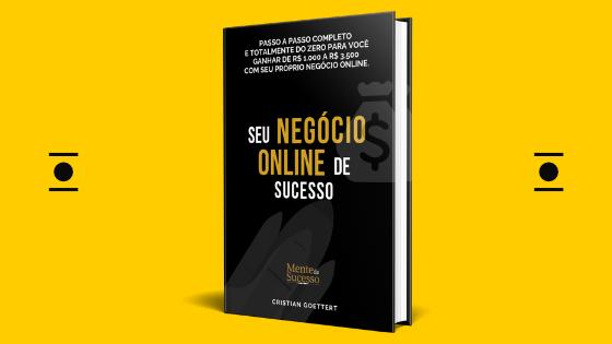 SEU NEGÓCIO ONLINE DE SUCESSO!