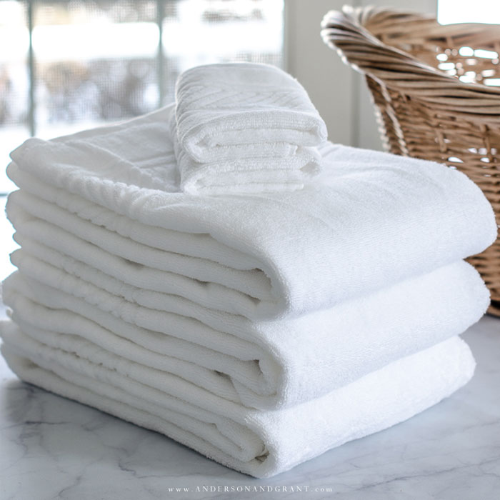 How To Fold Bath Towels For A Tidy Linen Closet