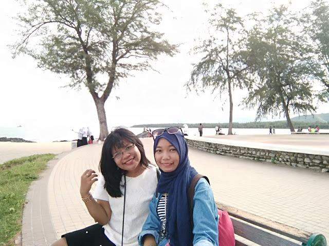 samila beach hatyaii Objek Wisata Songkhla Thailand