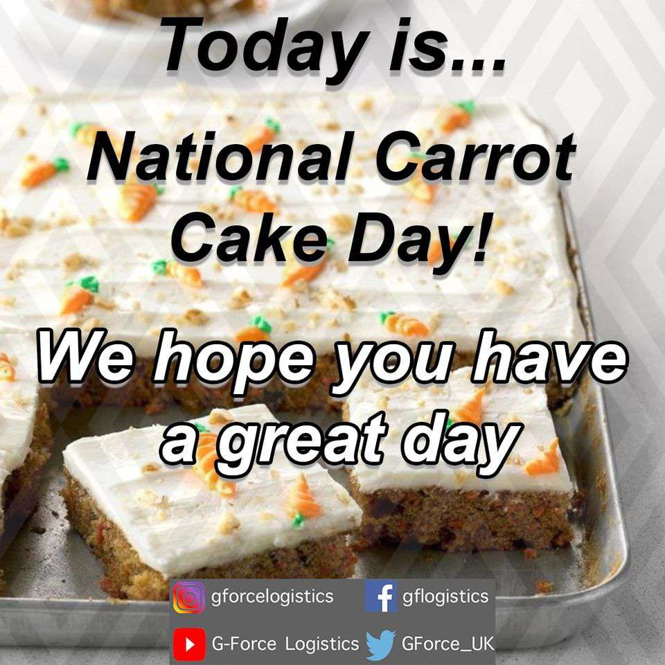 National Carrot Cake Day Wishes Photos