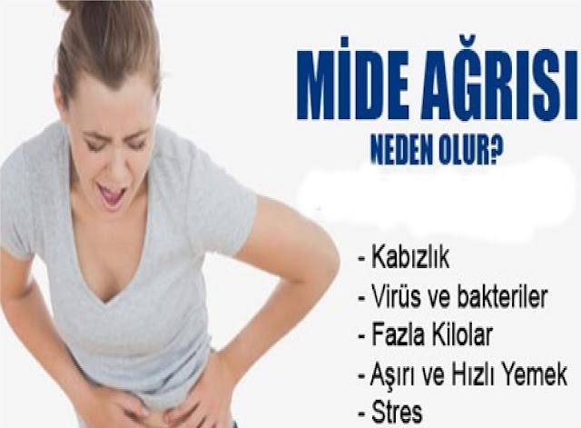 mide ağrısı nedeni
