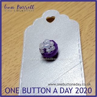 One Button a Day 2020 by Gina Barrett - Day 48: Fairy Cup