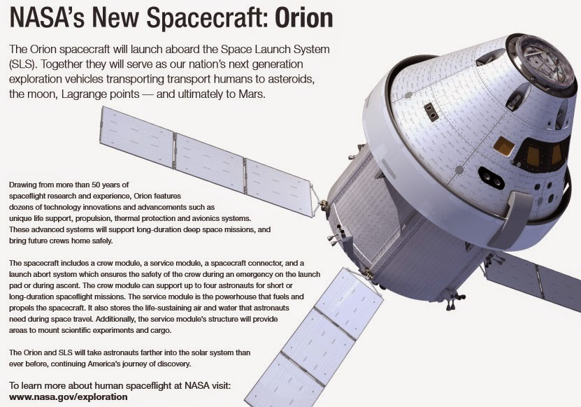Model Orion Spacecraft - Pics about space