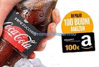 Logo Coca-Cola ''Riparti con gusto'' e vinci 100 buoni Amazon da 100€