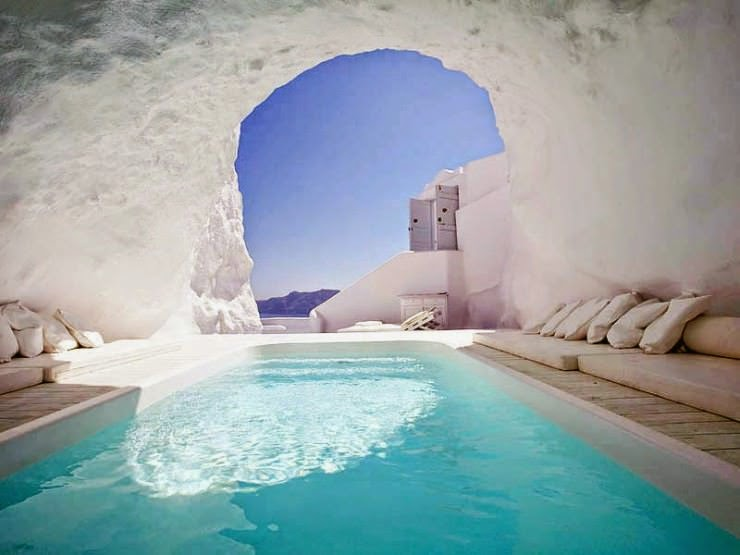 7. Katikies Hotel, Santorini, Hellas (Greece) - Top 10 Marvelous Pools in the World