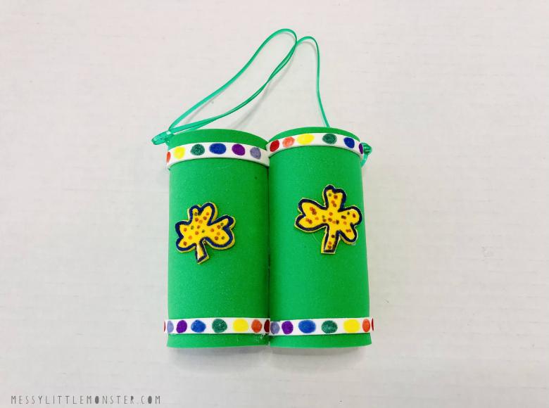 toilet paper roll binoculars craft for kids