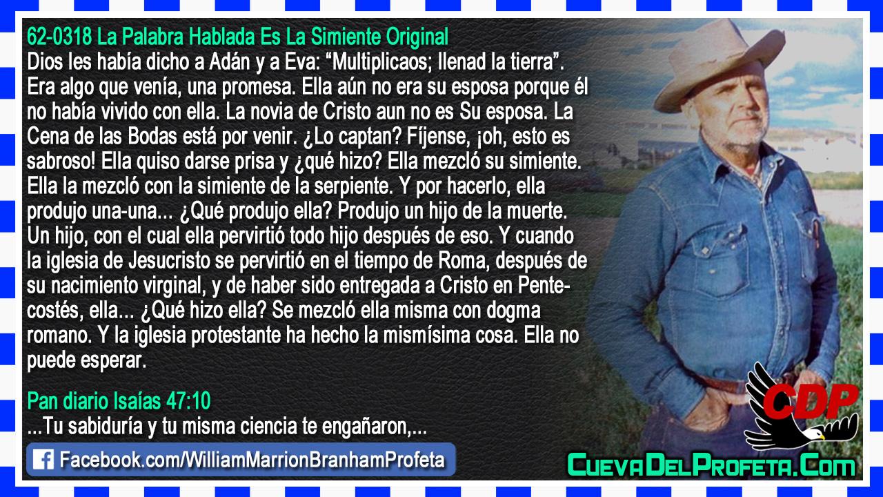 Produjo un hijo de la muerte - William Branham en Español