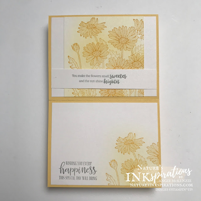 By Angie McKenzie for Ink.Stamp.Share. Showcase Blog Hop; Click READ or VISIT to go to my blog for details! Featuring the Daisy Garden, Beautiful Moments and Peaceful Moments Cling Stamp Sets and the All Things Fabulous Photopolymer Stamp Set along with the Scalloped Contours Dies by Stampin' Up!® to create a graduation gift card; #stampinup #cardtechniques #cardmaking #daisygardenstampset #beautifulmomentsstampset #peacefulmomentsstampset #allthingsfabulousstampset #scallopedcontoursdies #stampingtechniques  #stampinupcolorcoordination #inkstampshareshowcasebloghop #naturesinkspirations #stamparatus #coloringwithblends #graduationcards #diycards #handmadecards