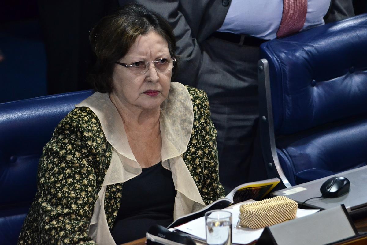 Resultado de imagem para senadora Maria do Carmo Alves, do DEM-SE