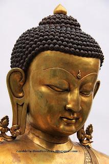 Buddha head, Sri Lanka Pavilion, Shanghai Expo 2010