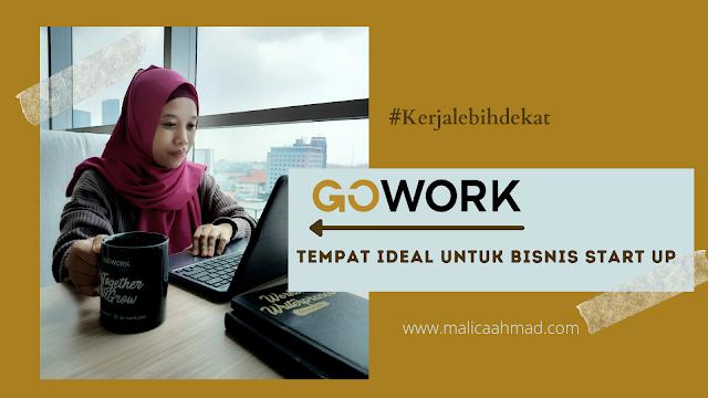 Gowork tempat ideal bisnis start up