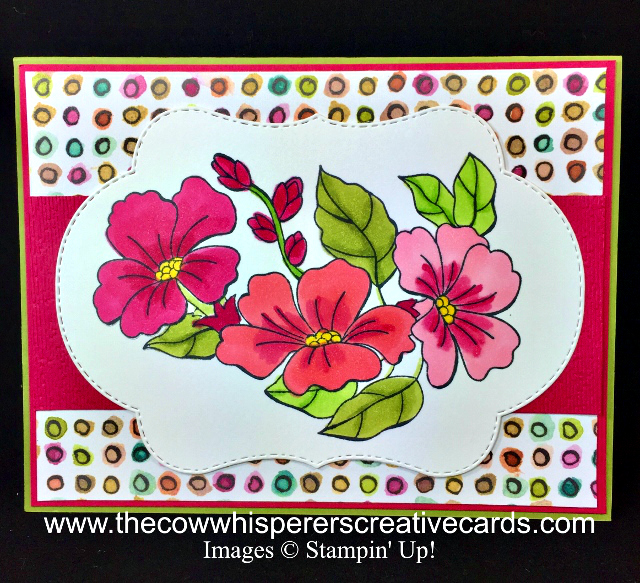 Card, Blended Seasons, Stitched Seasons Framelits, Stampin' Blends