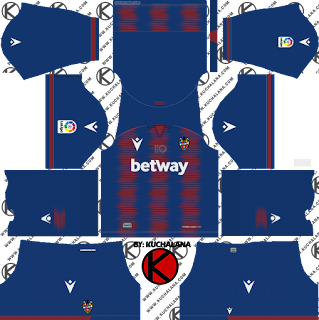 Levante UD 2019/2020 Kit - Dream League Soccer Kits