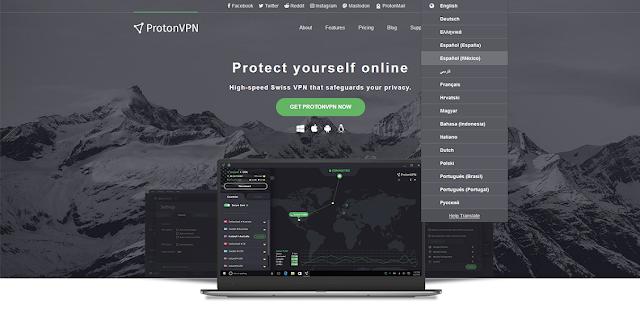 ProtonVPN ficou ainda melhor - Novos servidores e idiomas no site
