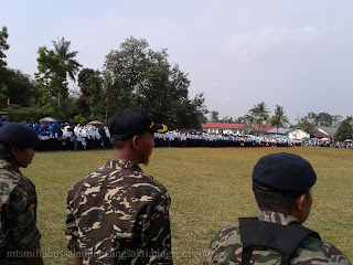 Upacara HUT RI 2017 di Kecamatan Megang sakti