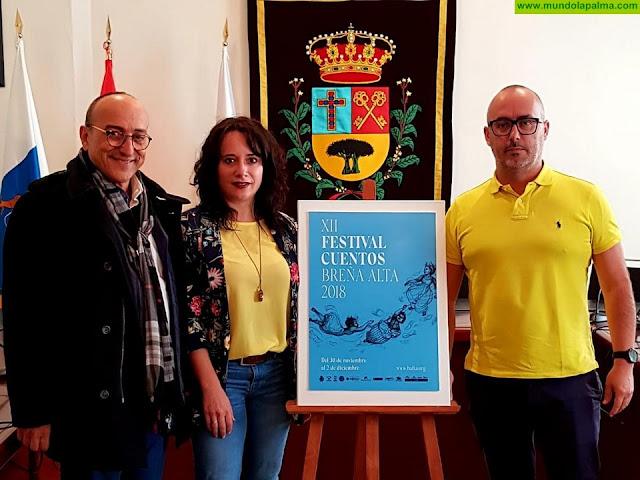 Breña Alta presenta el cartel anunciador de la XII Edición del Festival de Cuentos