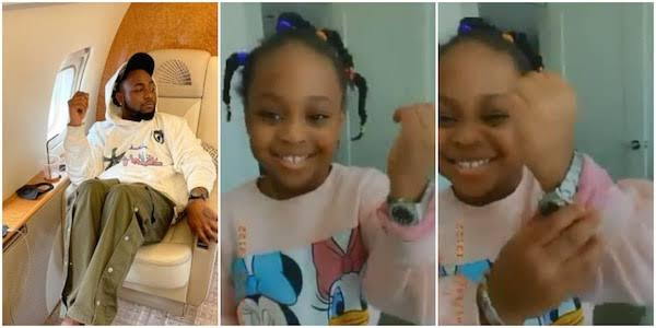"""""""My daughter cracks me up"""" – Davido says after gifting Hailey expensive Rolex watch [Video]"""