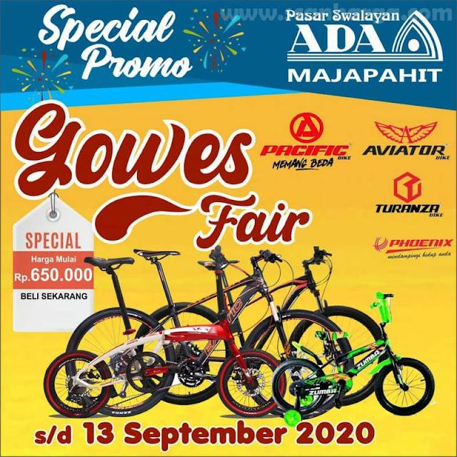 ADA Swalayan Special Promo Gowes Fair Sepeda Murah Mulai Rp 650K