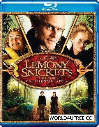 Lemony Snicket's A Series of Unfortunate Events (2004) 720p 1.1GB Blu-Ray Hindi Dubbed Dual Audio [Hindi 2.0 + English 2.0] MKV