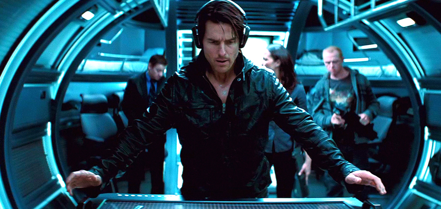 Tom Cruise în Mission: Impossible - Ghost Protocol