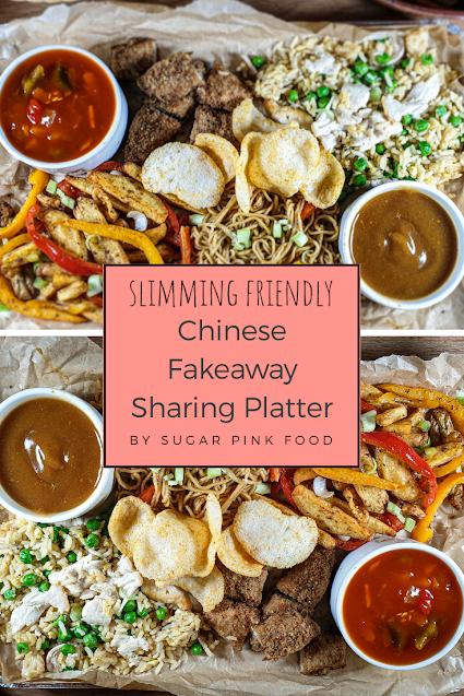Chinese Fakeaway Platter Recipe,  low calorie recipe, low caloire meals, low calorie dinner, slimming food, Chinese Fakeaway Recipe, fakeaway recipe, fakeaway food, fakeaways