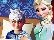 Frozen Nurse Elsa Jack Frost