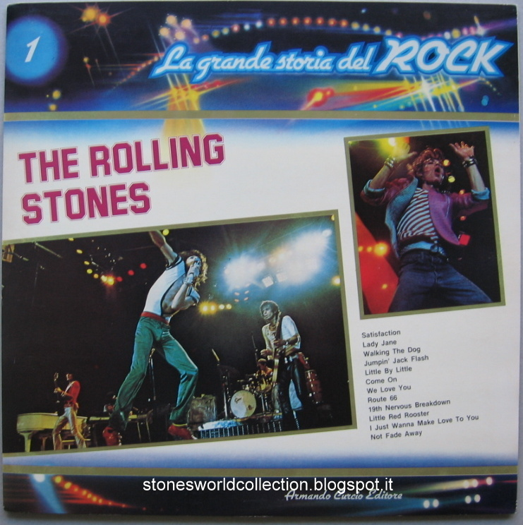 Stonesworldcollection La Grande Storia Del Rock Italy