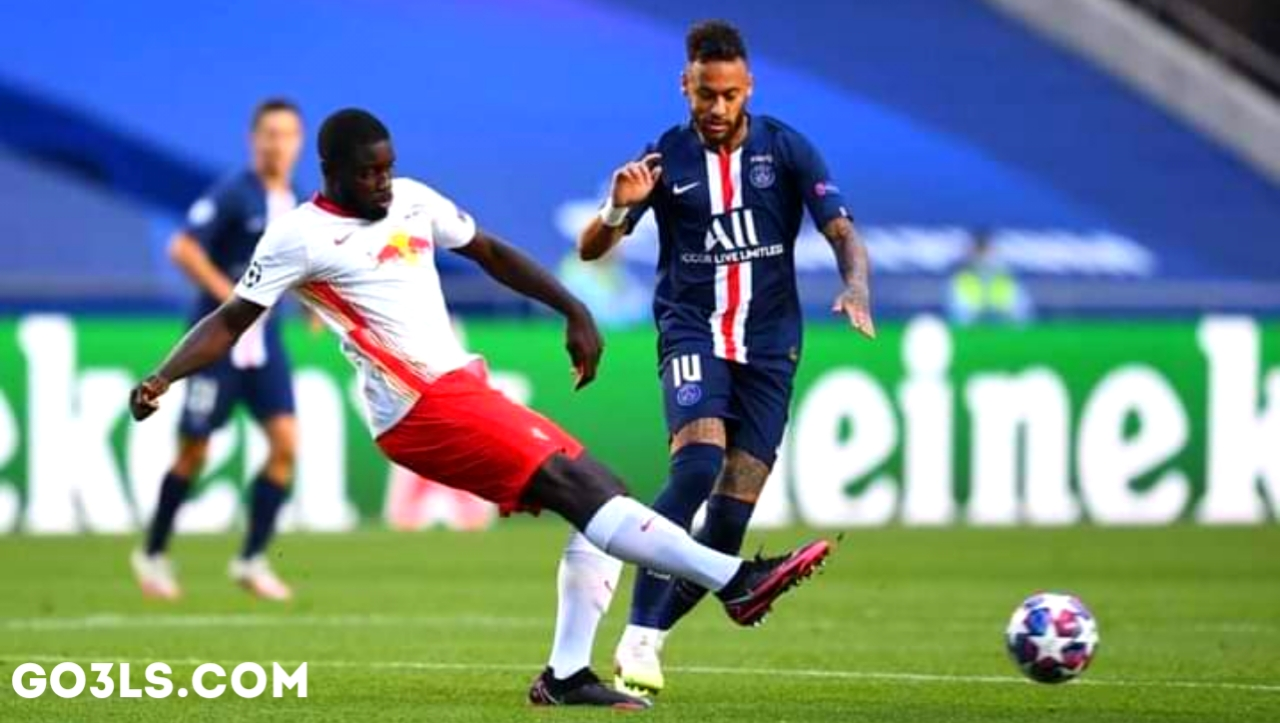 Paris Saint-Germain and Leipzig match