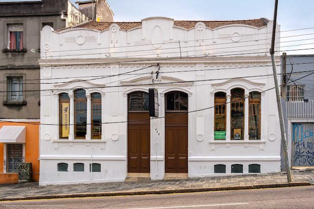 Casa na Rua Trajano Reis 443