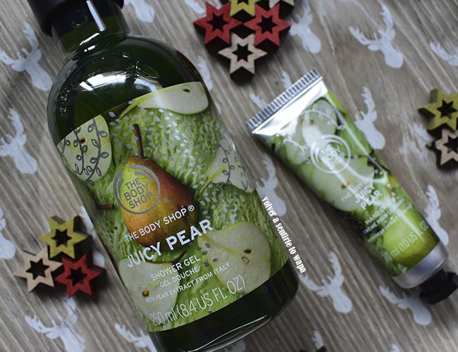 Edición de Navidad de Pera de The Body Shop