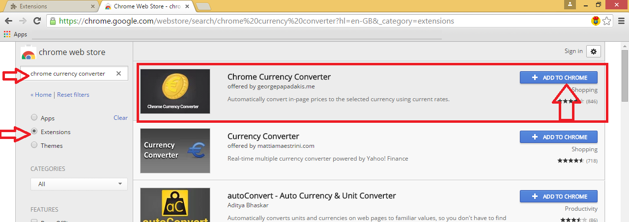 Real Time Auto Currency Converter Chrome